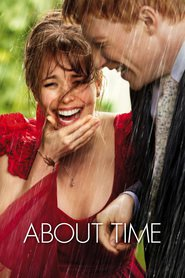 """Poster for the movie """"About Time"""""""