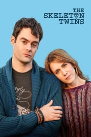 "Poster for the movie ""The Skeleton Twins"""