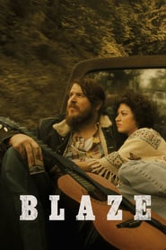 """Poster for the movie """"Blaze"""""""