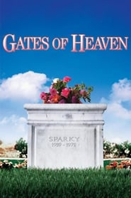 "Poster for the movie ""Gates of Heaven"""
