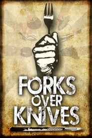 "Poster for the movie ""Forks Over Knives"""