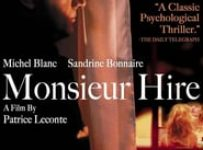 "Poster for the movie ""Monsieur Hire"""