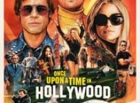 "Poster for the movie ""Once Upon a Time... in Hollywood"""