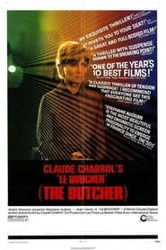 "Poster for the movie ""Le Boucher"""