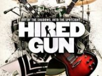 """Poster for the movie """"Hired Gun"""""""