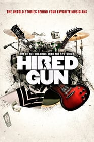 "Poster for the movie ""Hired Gun"""