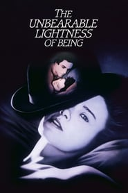 "Poster for the movie ""The Unbearable Lightness of Being"""
